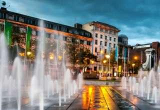 Manchester - flagowe wyspiarskie miasto