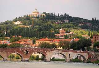 Werona ze starówką wpisaną na listę światowego dziedzictwa UNESCO