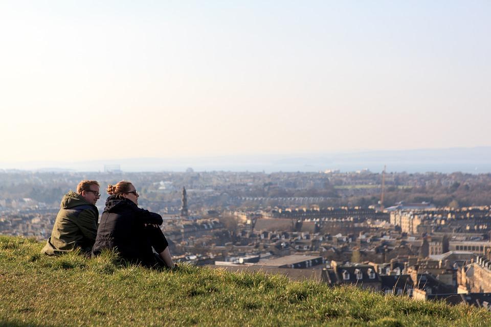 Edynburg - stolica Szkocji