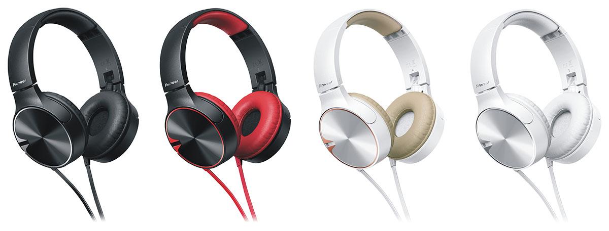 Słuchawki nauszne Pioneer SE-MJ722T
